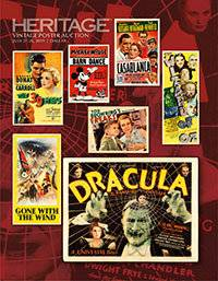 Timeless Classics Among Films Featured in Heritage Auctions' Vintage Posters Auction