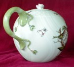 HEREND Rothschild Bird TEAPOT Large -HUNGARY-3