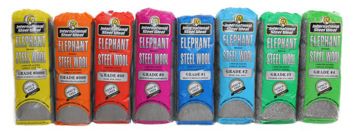 You can get Steel Wool in a range of grades, from super-fine to course.