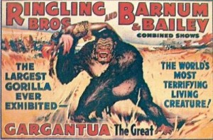 1938 – Ringling Bros. and Barnum & Bailey; Gargantua the Great