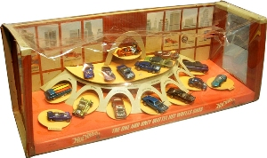 Hot Wheels store display, 1968 (Image courtesy of Bruce Pascal)