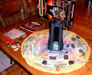 Dark Tower laid out