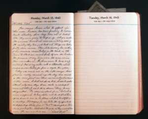 March 15, 1943 Diary Page