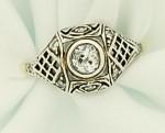 Cartier engagement ring, circa 1905