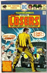 Our Fighting Forces #158. A week after ordering on GoAntiques, I have my comic and am quite happy. I have my comic in hand and, to my delight, it is in the described condition. I am now going into a collector's fit, wherein I need to own all the DC Kirby war comics.