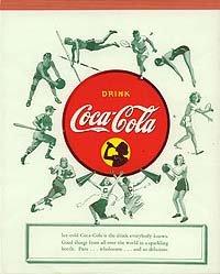 1940s Coke tablet