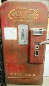 5-cent Coke machine