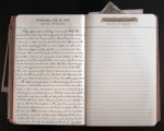 July 21, 1943 Diary Page