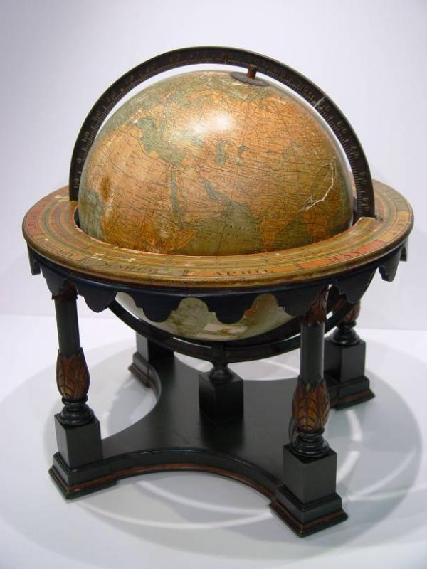 Antique and vintage globes, even if they are damaged, can have a useful and productive second life with a little work.