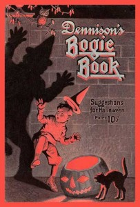 """The 1923 """"Dennison's Bogie Book,"""" filled with recipes, parlor games and how-to guides."""