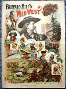 "This is the Buffalo Bill Souvenir Program for the 1895 season. Note that the back says ""Where We Were in 1894."""