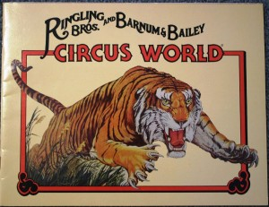 This other program was sold after the park had expanded with more shows, rides and other attractions. These can often be found for $10 or less.