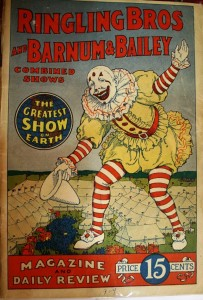 A 1924 Ringling Bros. and Barnum & Bailey program.