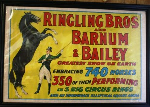 A 1920s Ringling Bros. and Barnum & Bailey.