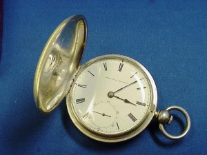 An example of a Waltham issued to a telegrapher for the Union Army's Military Telegraph Corps.