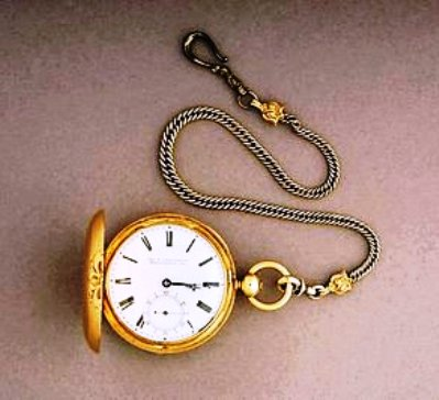 "Abraham Lincoln's watch is considered a ""hands down"" Civil War relic."