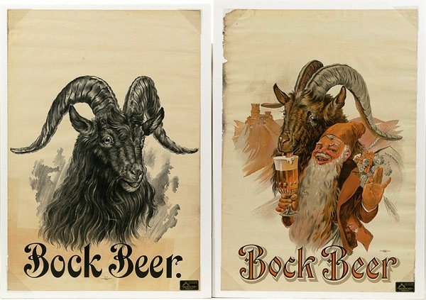 The artwork on these Northwestern Litho Co. Milwaukee art nouveau bock beer posters, circa 1912-14, reflects the fashions popular at that time. Collecting vintage and antique advertising offers a wide variety of categories, which means there is usually something ti interest everybody.
