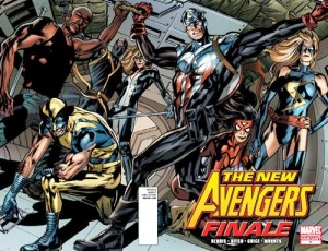 New Avengers: Finale #1 second printing