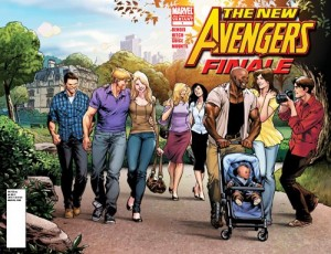 New Avengers: Finale #1 Unmasked variant