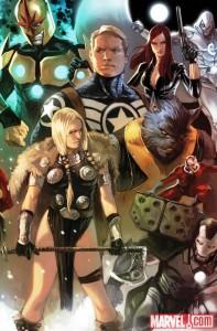 Secret Avengers #1 Marko Djurdjevic variant