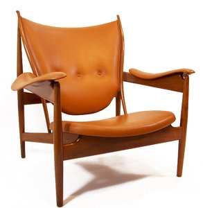 This Finn Juhl lounge regularly sells for $30,000 or more.