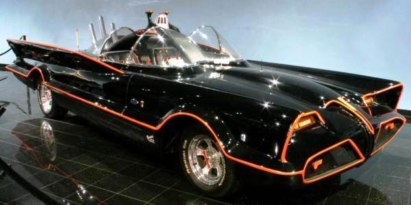 "George Barris built the more famous version of the Batmobile for the late 1960's ""Batman"" TV series, starting with a 1955 Lincoln Futura concept car and spent 15 days and $15,000 customizing it. It sold for $4.2 million at the Barrett-Jackson Auto Auction in Scottsdale, Ariz. in January of 2013."