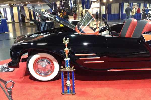 In 2014 the restored Batmobile won first place in the hand-built sports car class at the Sacramento Autorama, the longest running indoor car show in the U.S.