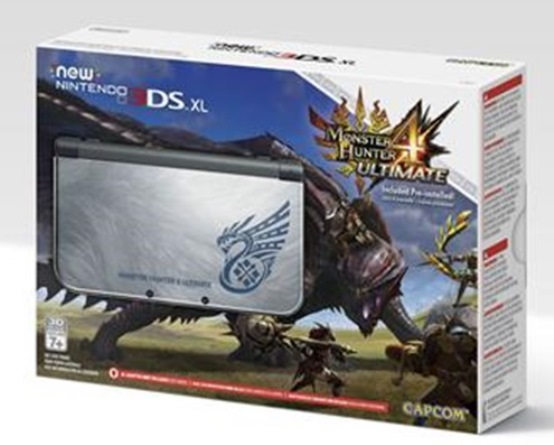 Another great-looking special edition for this year's 3DSXL model, but another one that's practically unavailable. Monster Hunter is nowhere near as popular as Zelda in the United States, but it still attracts a rabid fan base that bought every one of these Gamestop made available the day they were put up for preorder.