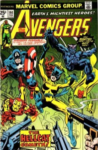 Avengers #144 Marvel, 1976, first appearance and origin of Hellcat
