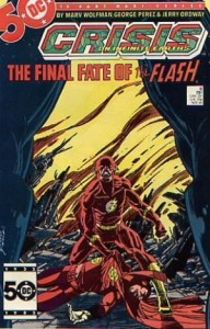 Crisis on Infinite Earths #8, DC, 1985, Death of Barry Allen