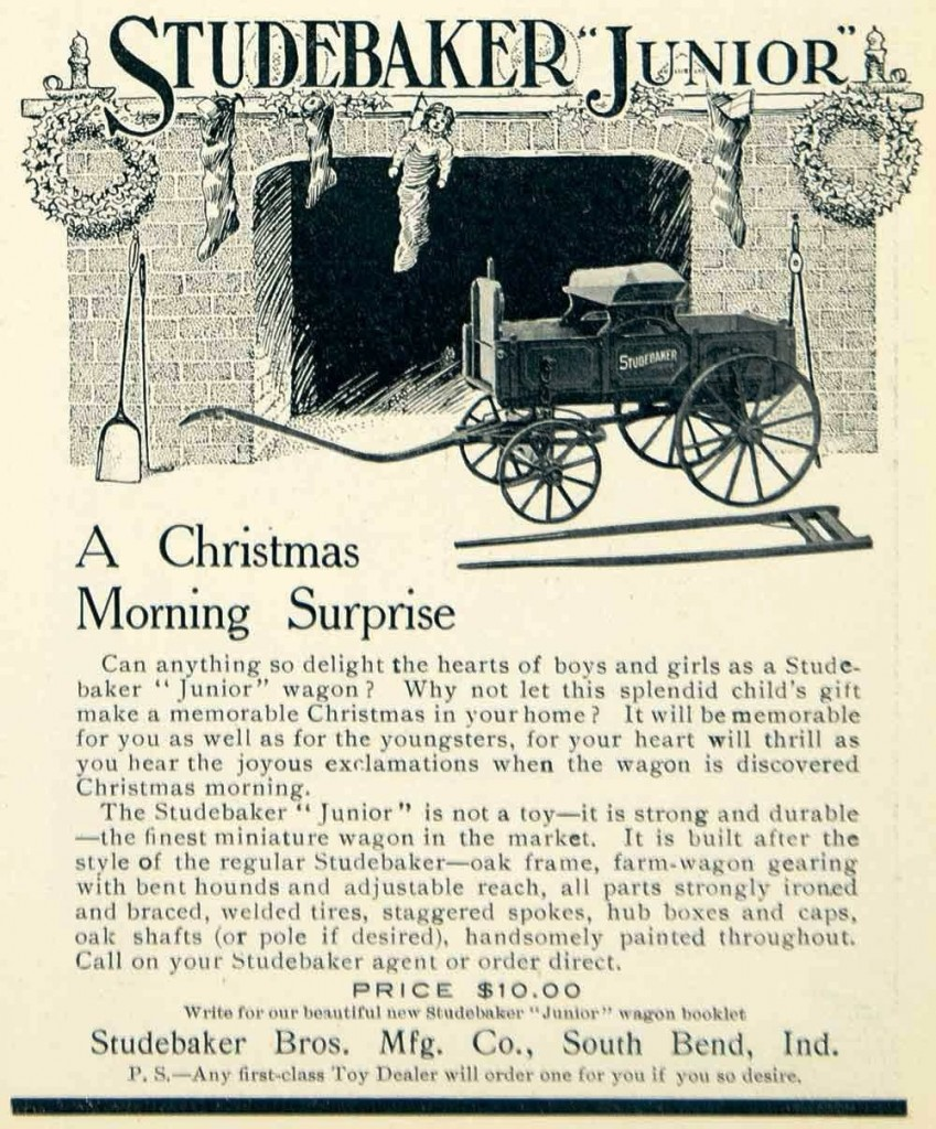 """For just $10, the Studebaker Junior would make a great """"Christmas Morning Surprise!"""""""