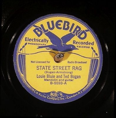 "This 78 RPM record of ""Doing A Stretch"" by Blind Blake brought $1,325.78 in an eBay auction that close in April of 2015. Notice that the label states the song was ""electrically recorded,"" dating it from the late 1920s to early '30s."