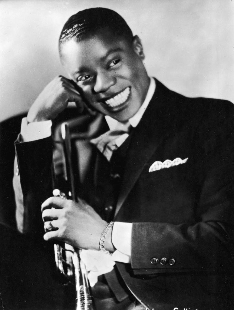 Louis Armstrong played in King Oliver's Creole Jazz band as a young man. If you find an old King Oliver's Creole Jazz band record, buy it!
