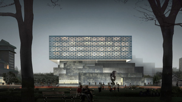 China Guardian's new Beijing headquarters, located opposite the National Museum of Art.