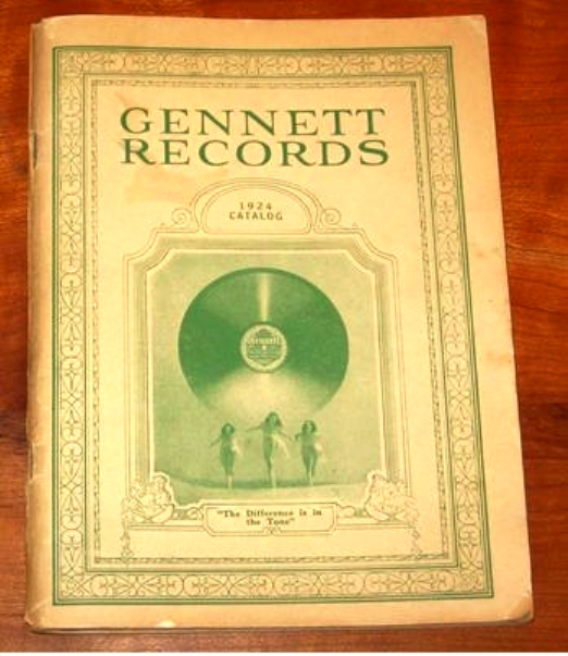 Two years after the courts decided that Victor had not invented lateral recording technology after all, the Gennett Record Company produced a 144-page catalog worth of new records. This catalog sold for $300 in 2012.