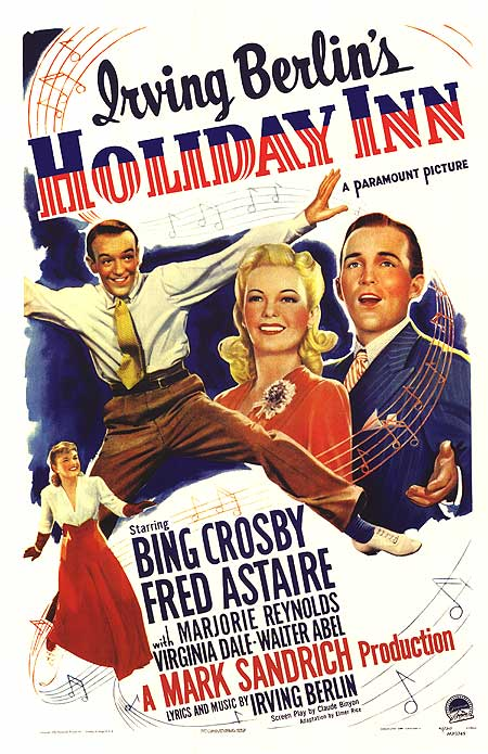 """The radio, which normally is only background noise most of the time, began to play Bing Crosby singing """"White Christmas."""""""