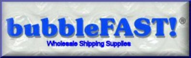 10% off of Shipping Supplies at BubbleFAST!
