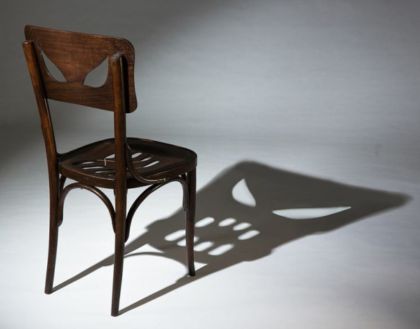The Yaara Dekel-designed Coppelius Chair is designed to cast the shadow of an evil face. Even if you don't have altussessiophobia, the name of the ailment afflicting actor Billy Bob Thorton, this chair is scary.