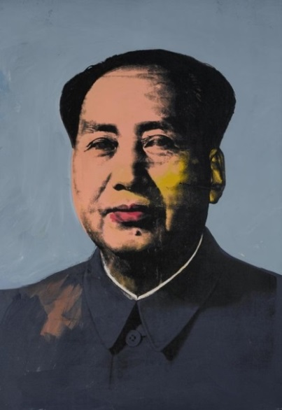 Mao is one of a series of silkscreened portraits of the Chinese Communist leader Mao Zedong (1893–1976) that Warhol produced in 1973.