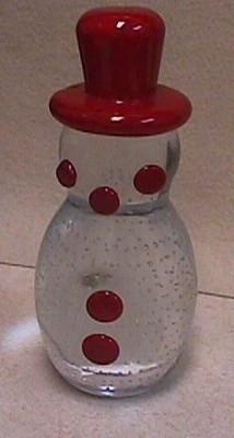 gibson glass snowman