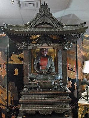 japanese buddha structure