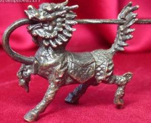 ancient chinese animal padlock