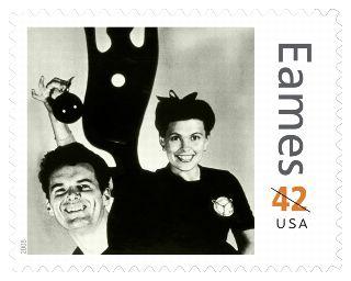 eames postage stamp