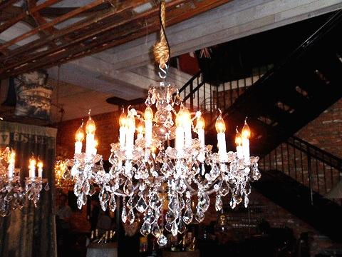 gothic crystal chandelier