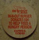 in-n-out wooden nickel