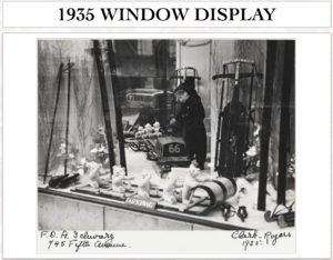 1935 steiff window display