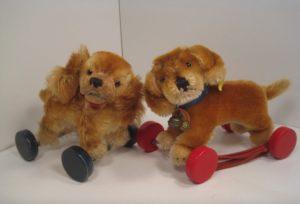 postwar steiff dogs