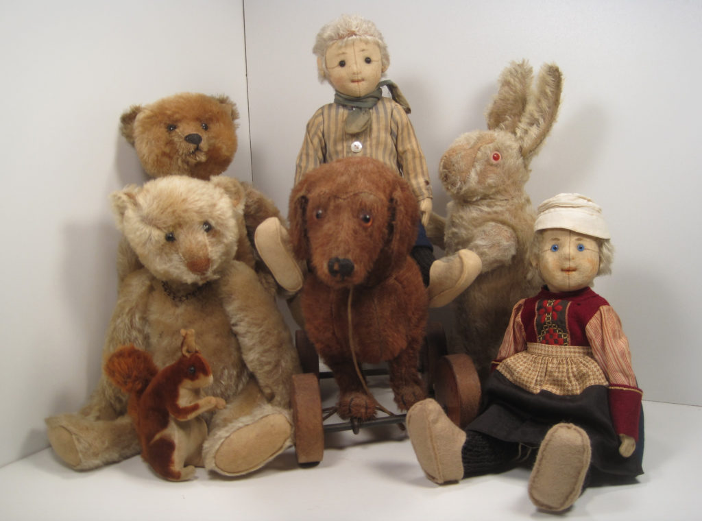 turn of last century toys collection