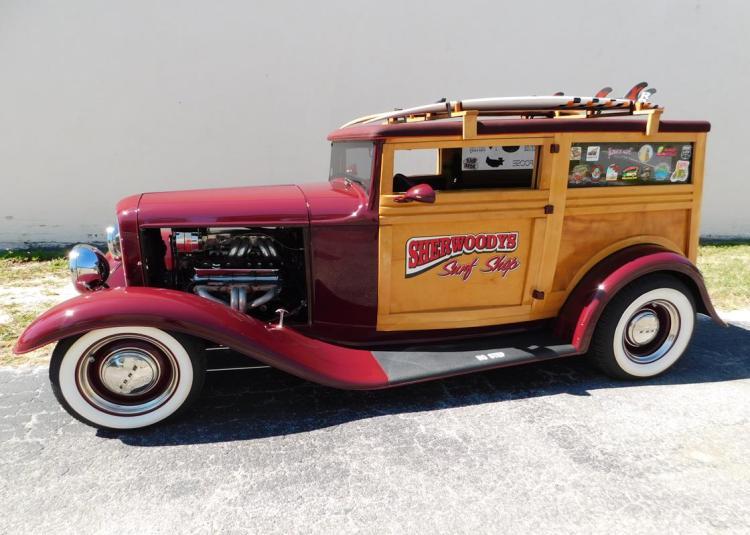 1932 Ford Woody street rod