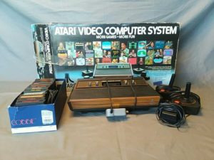 retro atari video computer system